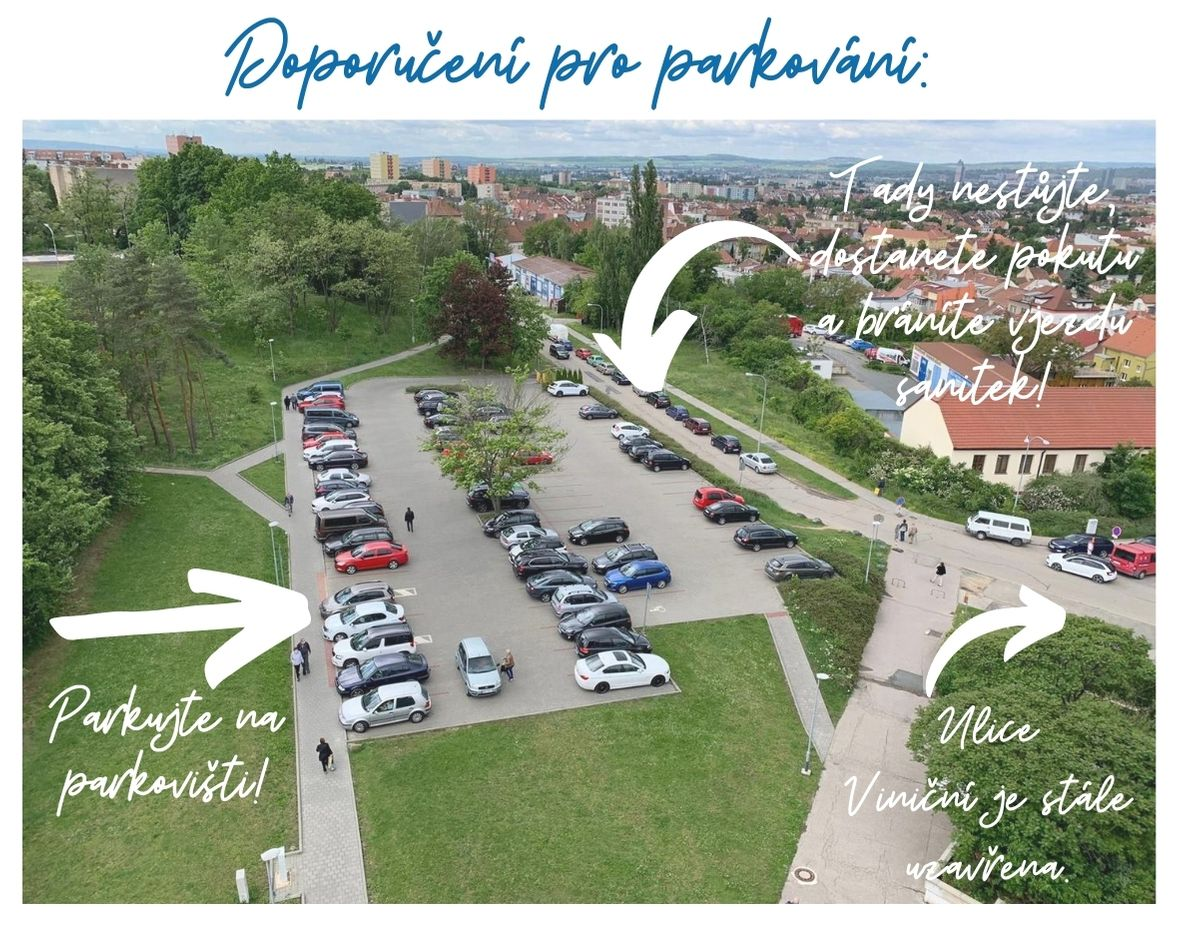 Doporučení pro parkování